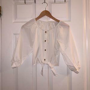 SHEIN Tops - SHEIN white blouse